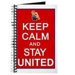 Keep Calm and Stay United Journal
