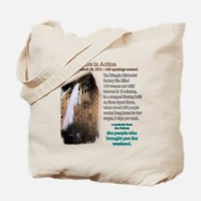 Job Creators: Triangle Fire Tote Bag