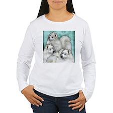 samoyed dogs Long Sleeve T-Shirt