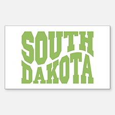 South Dakota Sticker (Rectangle)