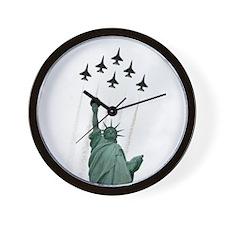 Thunderbirds Liberty Wall Clock