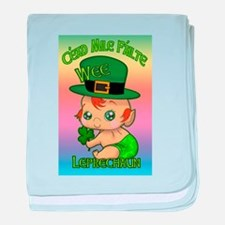 100 Thousand Welcomes Wee Leprechaun baby blanket