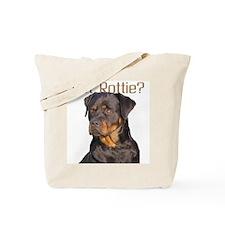 """Rottweiler"" Tote Bag"