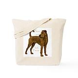 Irish terrier Canvas Bags