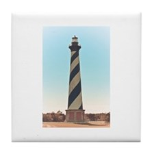 Hatteras Lighthouse. Tile Coaster