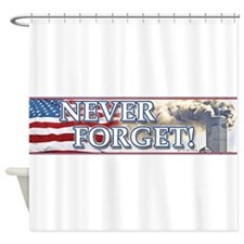 Cute Forget Shower Curtain