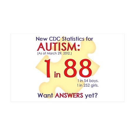 1 in 88 Want Answers v1 38.5 x 24.5 Wall Peel