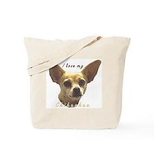 """""""Chihuahua"""" Tote Bag"""