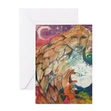 Unique Moon Greeting Card