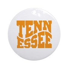 Tennessee Ornament (Round)