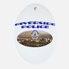 Riverside Police Ornament (Oval)