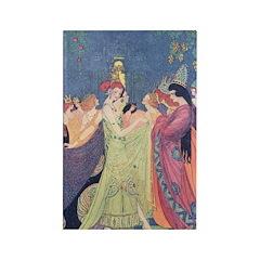 Abbott's Dancing Princesses Rectangle Magnet (10 p