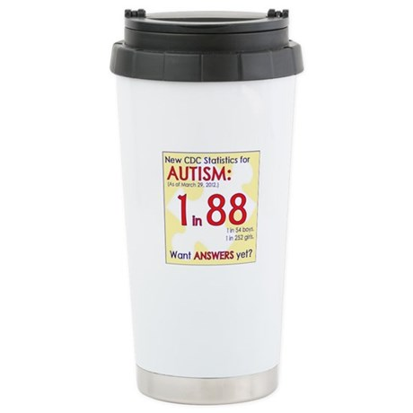 1 in 88 Want Answers v2 Stainless Steel Travel Mug