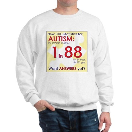 1 in 88 Want Answers v2 Sweatshirt