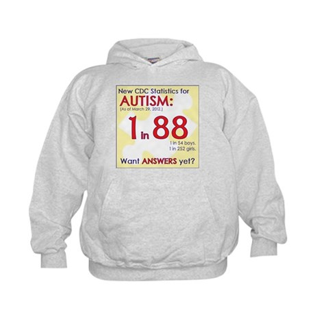 1 in 88 Want Answers v2 Kids Hoodie