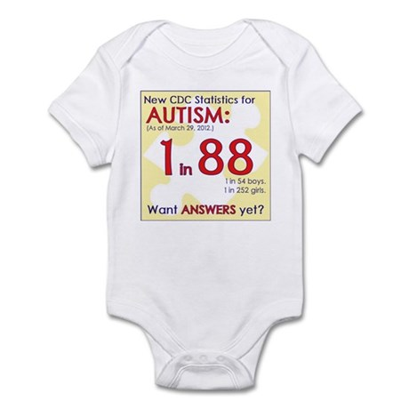 1 in 88 Want Answers v2 Infant Bodysuit