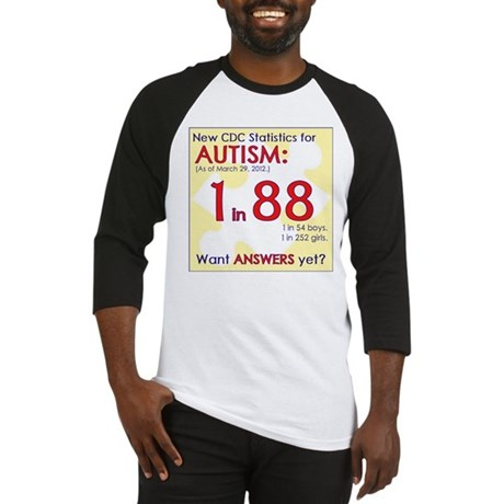 1 in 88 Want Answers v2 Baseball Jersey