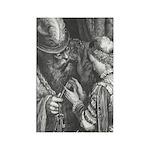 Dore's Bluebeard Rectangle Magnet (10 pack)