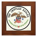 Crippled Eagle Framed Tile