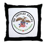 Crippled Eagle Throw Pillow