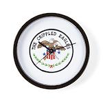 Crippled Eagle Wall Clock