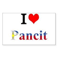 I luv Pancit Decal