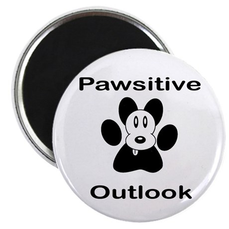 Pawsitive Outlook -- Dog Magnet