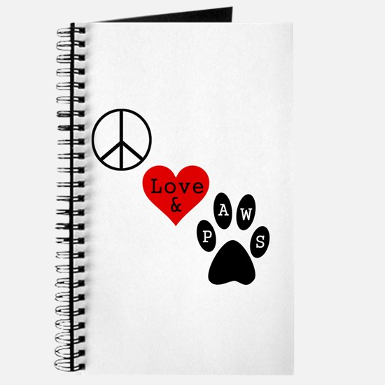 Peace Love & Paws Journal