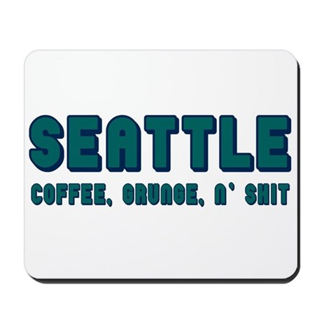 FUNNY SEATTLE Mousepad
