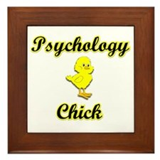 Psychology Chick Framed Tile