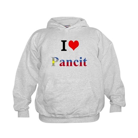 I luv Pancit Kids Hoodie