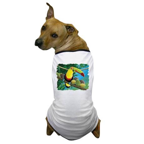 Rain Forest Toucan Dog T-Shirt