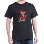 warrior red solid T-Shirt