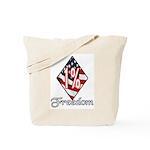 Freedom 1% Tote Bag