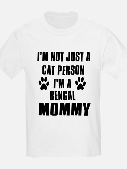 Bengal Cat Design T-Shirt