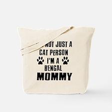 Bengal Cat Design Tote Bag
