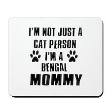 Bengal Cat Design Mousepad