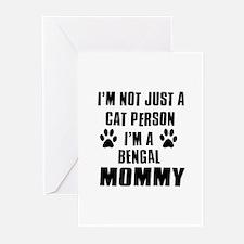 Bengal Cat Design Greeting Cards (Pk of 10)