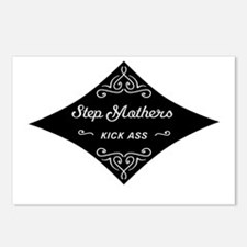 Step Mothers Kick Ass Postcards (Package of 8)