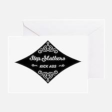 Step Mothers Kick Ass Greeting Card