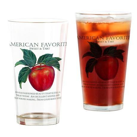 AMERICAN FAVORITE Drinking Glass