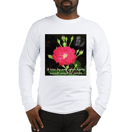 Wild Rose and The Bard Long Sleeve T-Shirt