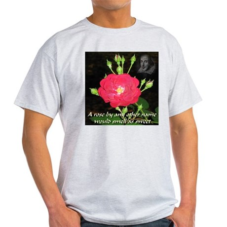Wild Rose and The Bard Light T-Shirt