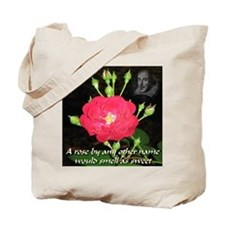 Wild Rose and The Bard Tote Bag