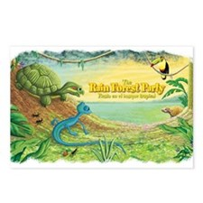 Tropical Rain Forest Postcards (Package of 8)