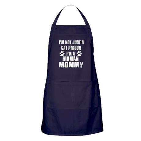 Birman Cat Design Apron (dark)