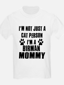 Birman Cat Design T-Shirt