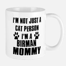 Birman Cat Design Mug