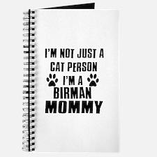 Birman Cat Design Journal