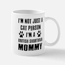 British Short-hair Cat Design Mug